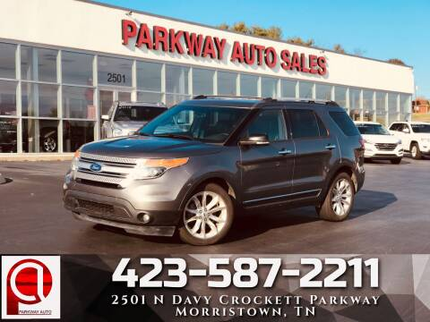 2014 Ford Explorer for sale at Parkway Auto Sales, Inc. in Morristown TN