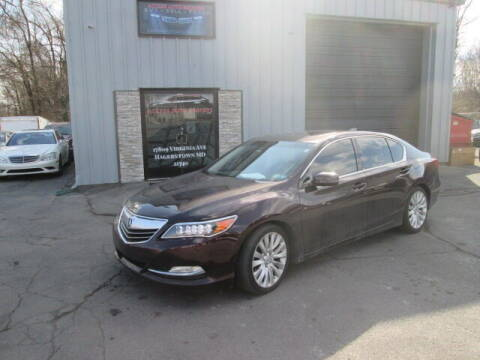 2014 Acura RLX for sale at Access Auto Brokers in Hagerstown MD