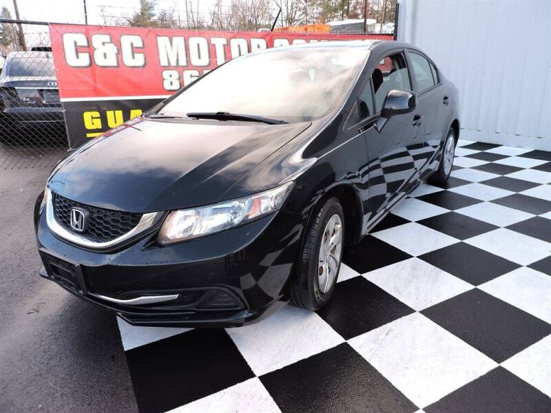 2013 Honda Civic for sale at C & C Motor Co. in Knoxville TN