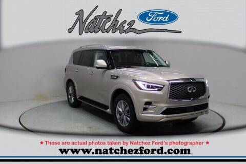2018 Infiniti QX80 for sale at Auto Group South - Natchez Ford Lincoln in Natchez MS