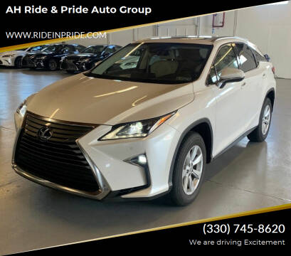 2017 Lexus RX 350 for sale at AH Ride & Pride Auto Group in Akron OH