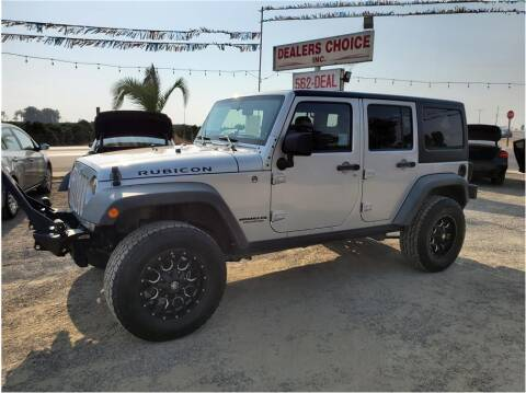 2011 Jeep Wrangler Unlimited for sale at Dealers Choice Inc in Farmersville CA
