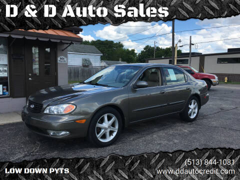 2003 Infiniti I35 for sale at D & D Auto Sales in Hamilton OH