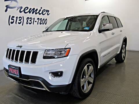 2015 Jeep Grand Cherokee for sale at Premier Automotive Group in Milford OH