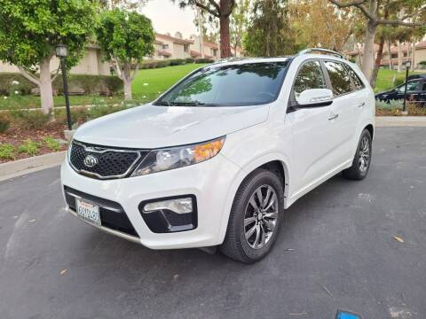 2012 Kia Sorento for sale at E MOTORCARS in Fullerton CA