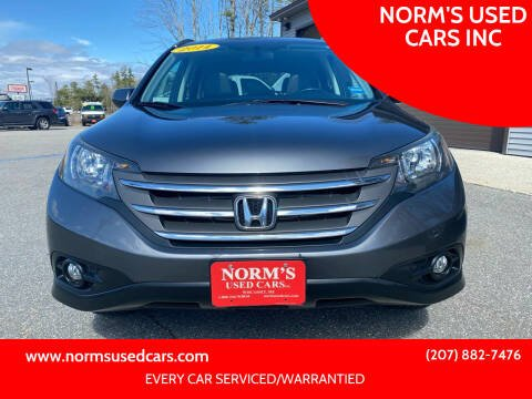 2014 Honda CR-V for sale at NORM'S USED CARS INC in Wiscasset ME