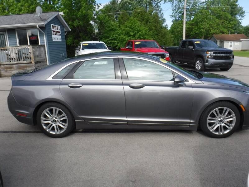 2014 Lincoln MKZ for sale at Dave's Car Corner in Hartford City IN