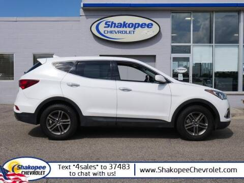 2017 Hyundai Santa Fe Sport for sale at SHAKOPEE CHEVROLET in Shakopee MN