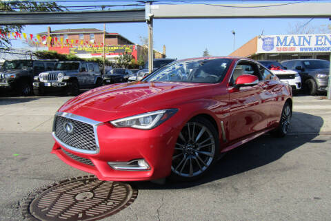 2017 Infiniti Q60 for sale at MIKEY AUTO INC in Hollis NY