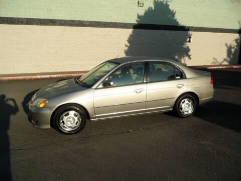 2003 Honda Civic for sale at Al Hutchinson Auto Center in Corvallis OR
