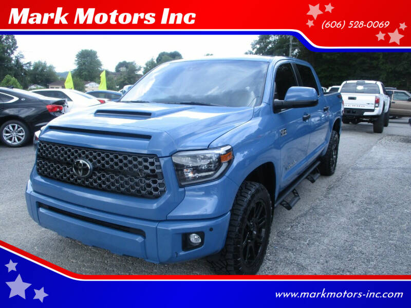 2020 Toyota Tundra for sale at Mark Motors Inc in Gray KY