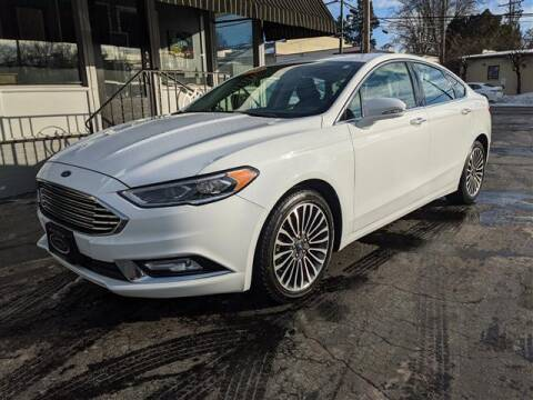2018 Ford Fusion for sale at GAHANNA AUTO SALES in Gahanna OH