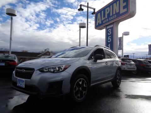 2018 Subaru Crosstrek for sale at Alpine Auto Sales in Salt Lake City UT