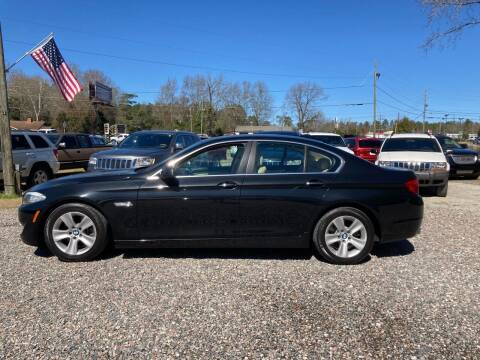 2011 BMW 5 Series for sale at Joye & Company INC, in Augusta GA