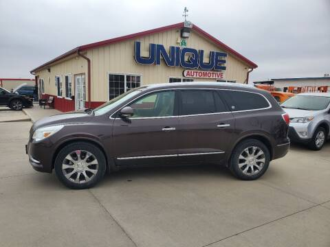 "2017 Buick Enclave for sale at UNIQUE AUTOMOTIVE ""BE UNIQUE"" in Garden City KS"