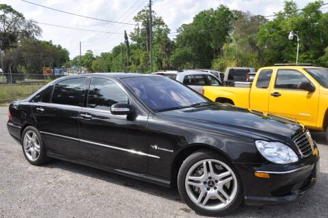 2003 Mercedes-Benz S-Class for sale at Elite Motorcar, LLC in Deland FL