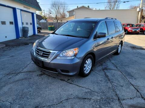 2010 Honda Odyssey for sale at MOE MOTORS LLC in South Milwaukee WI