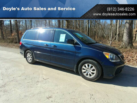 2009 Honda Odyssey for sale at Doyle's Auto Sales and Service in North Vernon IN