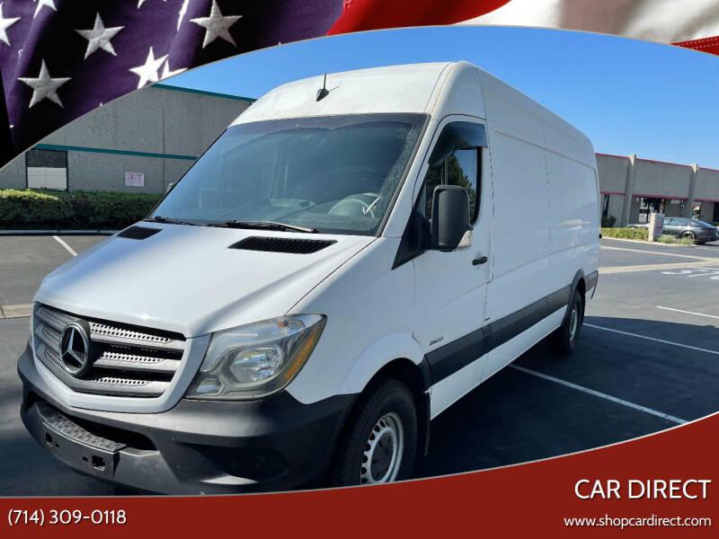2016 Mercedes-Benz Sprinter Cargo for sale at Car Direct in Orange CA
