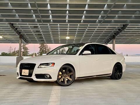 2012 Audi A4 for sale at Ronnie Motors LLC in San Jose CA