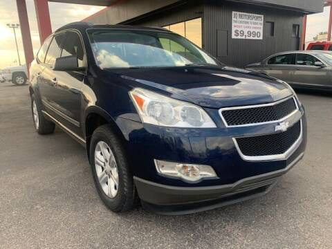 2012 Chevrolet Traverse for sale at JQ Motorsports East in Tucson AZ
