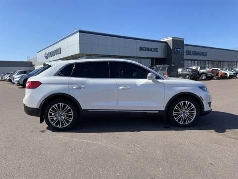 2016 Lincoln MKX for sale at Schulte Subaru in Sioux Falls SD