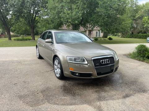 2007 Audi A6 for sale at CARWIN MOTORS in Katy TX