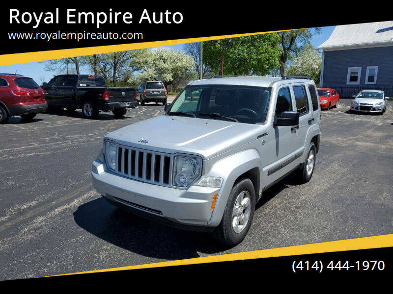 2010 Jeep Liberty for sale at Royal Empire Auto in Milwaukee WI