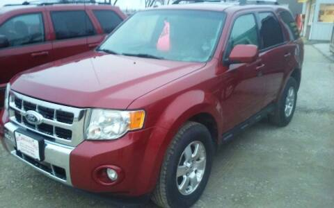 2010 Ford Escape for sale at Bob's Garage Auto Sales and Towing in Storm Lake IA
