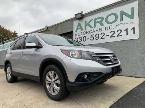 2013 Honda CR-V for sale at Akron Motorcars Inc. in Akron OH