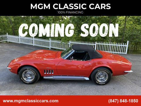 1969 Chevrolet Corvette for sale at MGM CLASSIC CARS in Addison IL