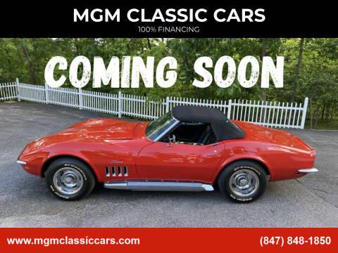 1969 Chevrolet Corvette for sale at MGM CLASSIC CARS in Addison IL