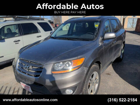 2011 Hyundai Santa Fe for sale at Affordable Autos in Wichita KS
