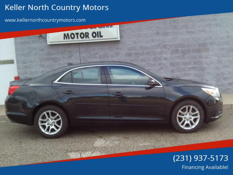 2013 Chevrolet Malibu for sale at Keller North Country Motors in Howard City MI