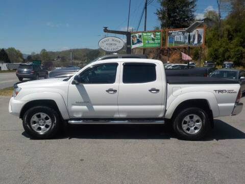 2014 Toyota Tacoma for sale at EAST MAIN AUTO SALES in Sylva NC