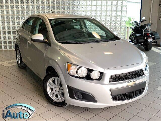 2014 Chevrolet Sonic for sale at iAuto in Cincinnati OH