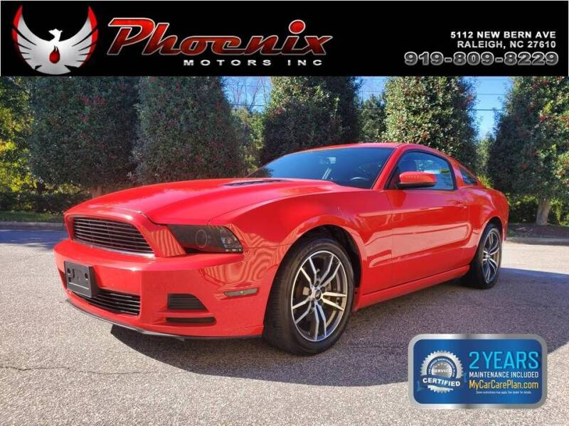 2014 Ford Mustang for sale at Phoenix Motors Inc in Raleigh NC