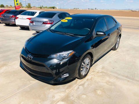 2017 Toyota Corolla for sale at A AND A AUTO SALES in Gadsden AZ