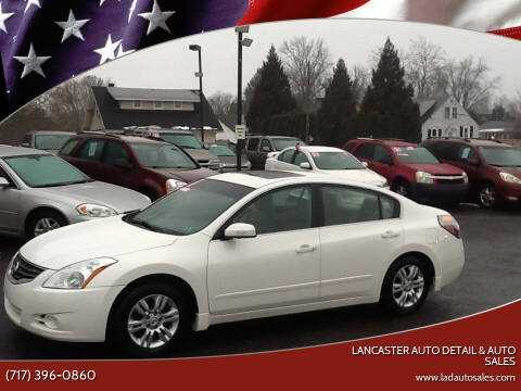 2011 Nissan Altima for sale at Lancaster Auto Detail & Auto Sales in Lancaster PA