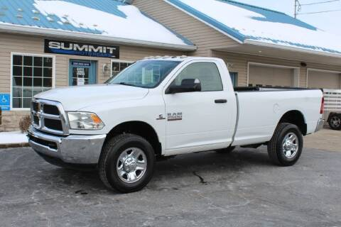 2016 RAM Ram Pickup 2500 for sale at Summit Motorcars in Wooster OH