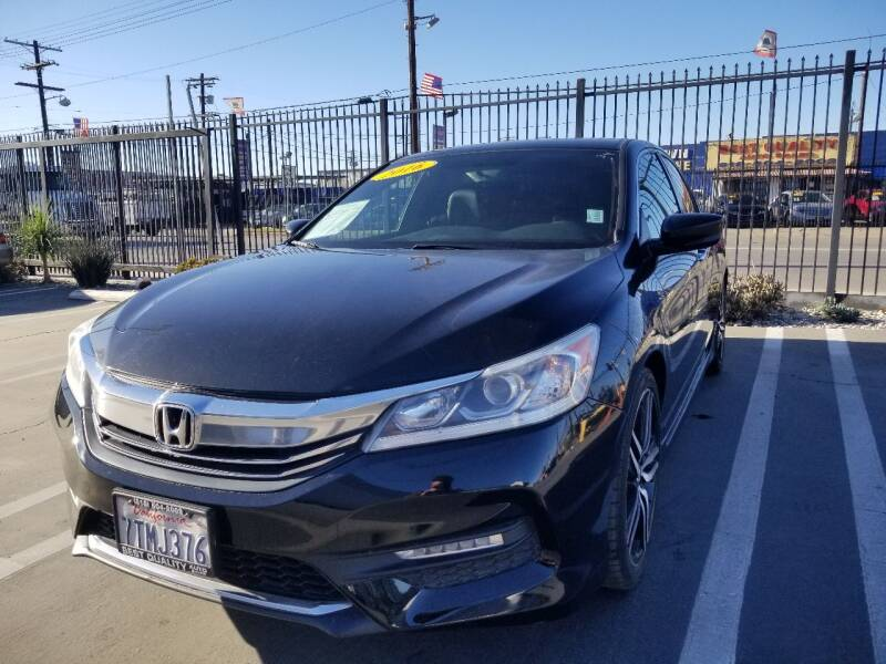 2016 Honda Accord for sale at Best Quality Auto Sales in Sun Valley CA