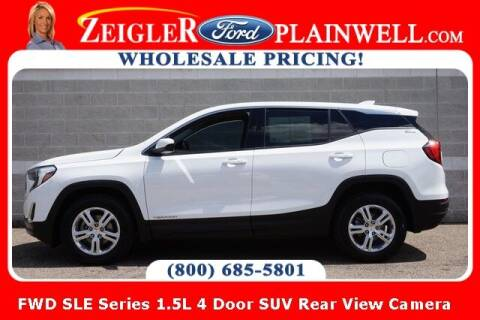 2018 GMC Terrain for sale at Zeigler Ford of Plainwell- Jeff Bishop in Plainwell MI