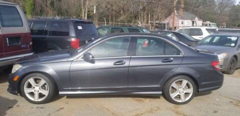 2010 Mercedes-Benz C-Class for sale at DREWS AUTO SALES INTERNATIONAL BROKERAGE in Atlanta GA