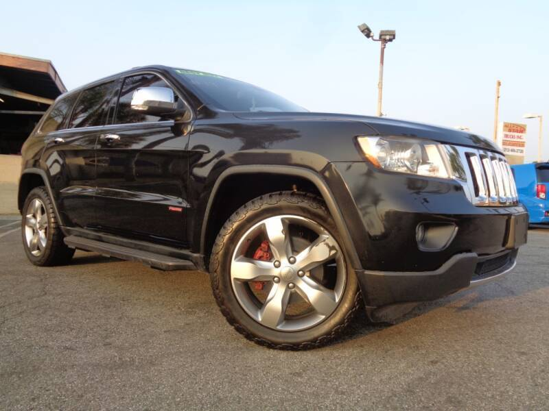 2012 Jeep Grand Cherokee for sale at ALL STAR TRUCKS INC in Los Angeles CA