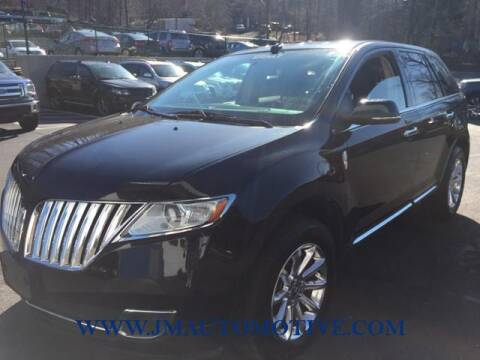 2015 Lincoln MKX for sale at J & M Automotive in Naugatuck CT