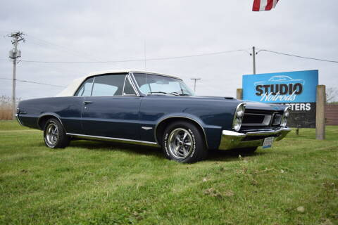 1965 Pontiac GTO for sale at STUDIO HOTRODS in Richmond IL