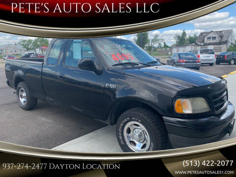2003 Ford F-150 for sale at PETE'S AUTO SALES LLC - Dayton in Dayton OH