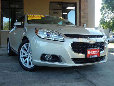 2014 Chevrolet Malibu for sale at Arandas Auto Sales in Milwaukee WI