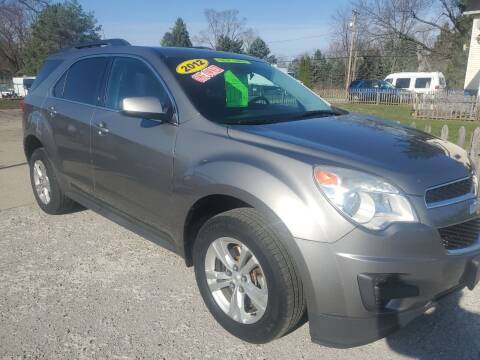 2012 Chevrolet Equinox for sale at Kachar's Used Cars Inc in Monroe MI
