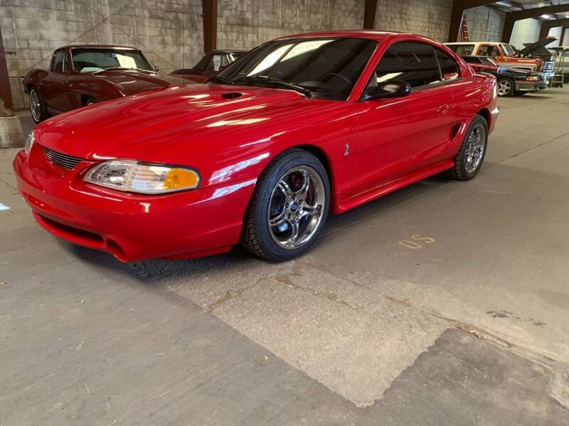 1997 Ford Mustang SVT Cobra for sale at American Classic Car Sales in Sarasota FL